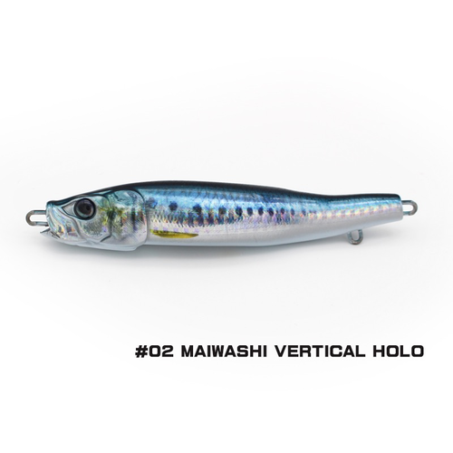 Little Jack lures Little Jack Metal Adict-04 100g  #02 MAIWASHI VERTICAL HOLO