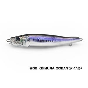 Little Jack lures Little Jack Metal Adict-04 150g  #06 KEIMURA OCEAN jig