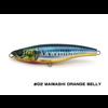 Little Jack lures Little Jack Forma HEADS 105mm/52g  #02 MAIWASHI ORANGE BELLY stick bait