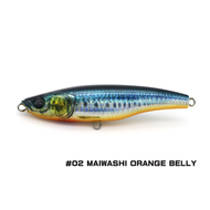 Little Jack lures Little Jack Forma HEADS 105mm/52g  #02 MAIWASHI ORANGE BELLY stick bait
