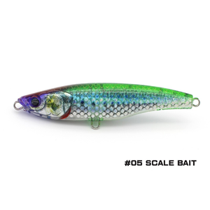 Little Jack lures Little Jack Forma HEADS 105mm/52g  #05 SCALE stick bait