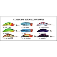 Classic Dr Evil Purple Mullet Dazzler 90mm lure