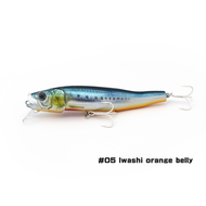 Little Jack lures Little Jack forma gloss Iwashi orange belly  #5 125mm floating