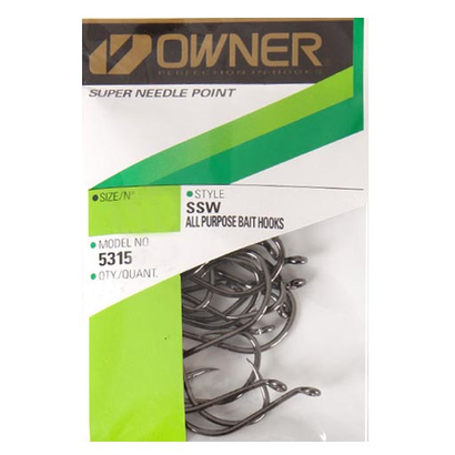 Owner hooks Owner SSW needle point octopus hook 4/0 pro pack 27pk