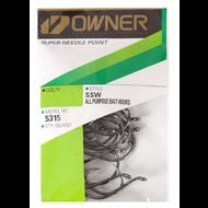 Owner hooks Owner SSW needle point octopus hook 7/0 pro pack 19pk