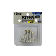 Owner hooks Owner Stinger ST66 treble hook #4 8pk