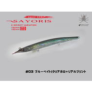 Little Jack lures Little Jack Sayoris 182mm 54g  #03 Bluebait / Clear Horo RP