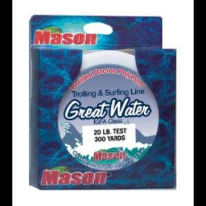 Mason lines Mason Dacron line 50yds 180lb