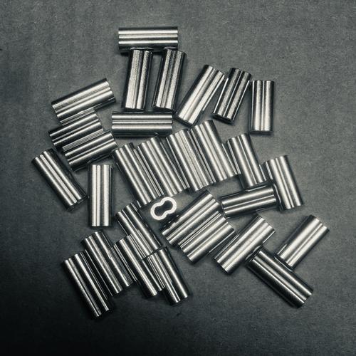 2.3 alloy double crimp 100pk