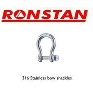 Ronstan Stainless steel shackle 400kg 2pk