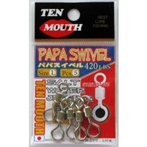 NT Swivel Ten Mouth Ten Mouth Papa Swivel SS 180lb