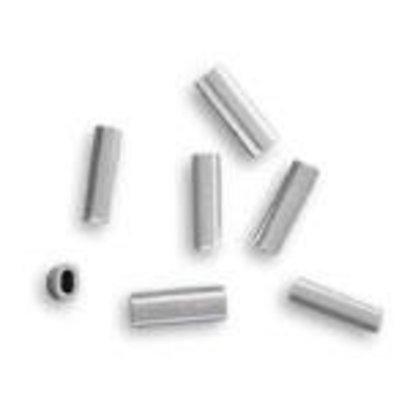 2.6 alloy oval crimp 600-800lb mono 50pk