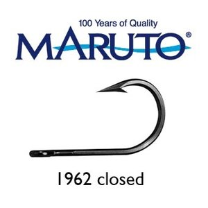 Maruto Hooks Maruto 7/0 game hook closed forged tinned 10pk