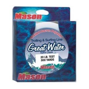 Mason lines Mason Dacron Line 50yd 130lb