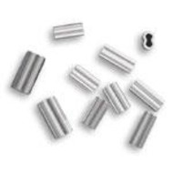 2.3 alloy double crimp 400-500lb mono 50pk