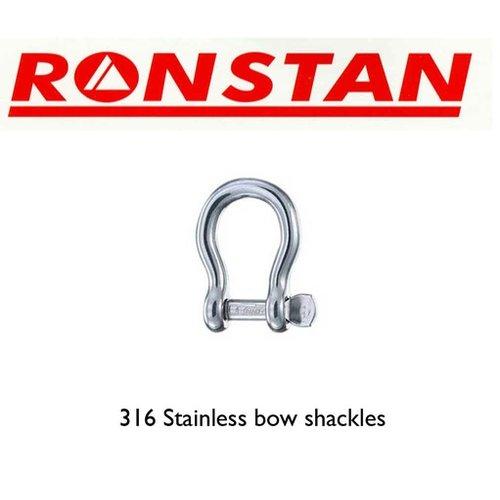 Ronstan Stainless steel shackle 800kg 2pk