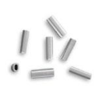 1.5 alloy oval crimp 150-200lb mono 50pk