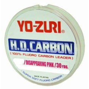 Yo-zuri fishing Yo-Zuri Fluorocarbon Leader pink 150lb 30yd