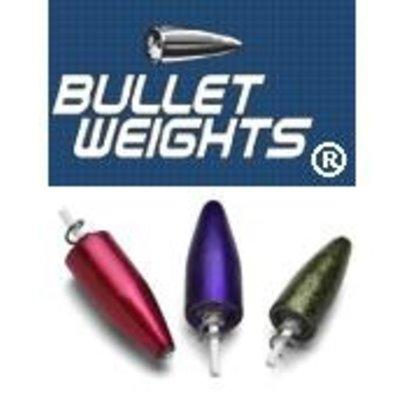 American Bullet weight 3/8oz 3pk screw-in black
