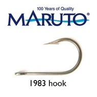 Maruto Hooks Maruto 6/0 stainless steel game hook wide gape