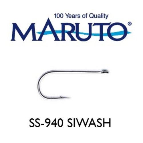 Maruto Hooks Maruto cod siwash hook 6/0 Stainless steel 10 bx