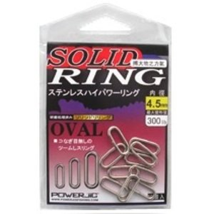 Power Jig Power Jig oval ring 450lb 10pk