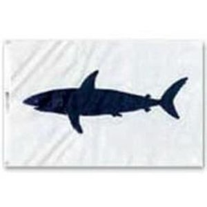 Taylor Catch Flag Shark 12x18