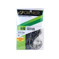 Owner hooks Owner ssw circle hook  5379 9/0 bulk pk.