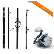 Hearty Rise rods Hearty Rise light blue 220g rod & Shimano trinidad 16N reel