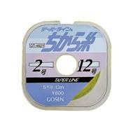 Gosen fishing line Gosen Taper line Chikara 13MX5 Five-12