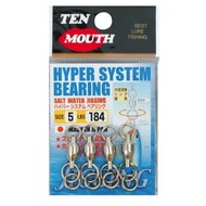 NT Swivel Ten Mouth Ten Mouth Hyper bearing system TM14 92lb size 3