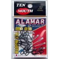 NT Swivel Ten Mouth Ten Mouth Alamar snap TM304 99lb size 3