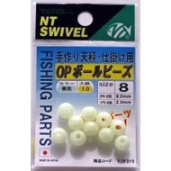 NT Swivel Ten Mouth NT Op super glo ball beads 493