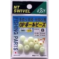 NT Swivel Ten Mouth NT Op super glo ball beads 493