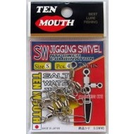 NT Swivel Ten Mouth Ten Mouth SW jigging swivel TM21 92kg M
