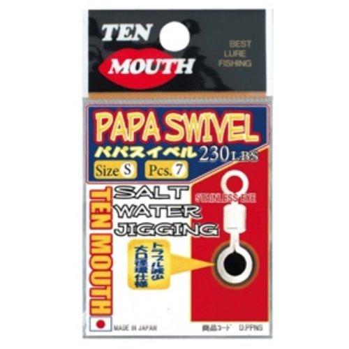 NT Swivel Ten Mouth Ten Mouth Papa swivel  TM19 370lb M