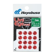 Hayabusa fishing Hayabusa stick on lure eye red 10mm