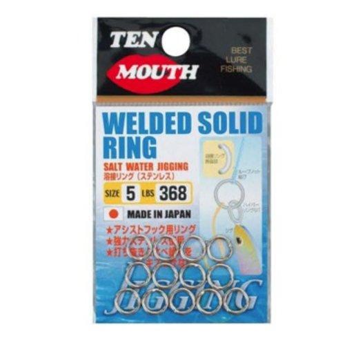 NT Swivel Ten Mouth Ten Mouth welded solid ring TM9 200kg size 6