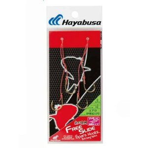 Hayabusa fishing Hayabusa Muso snapper free slide spare hook Strong specs