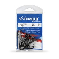 Youvella octopus 1/0 Hooks 27 pack