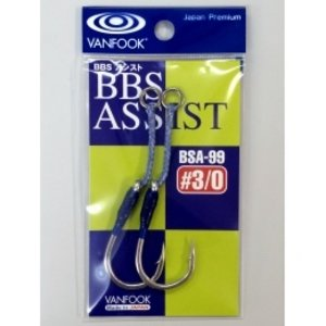 Vanfook Hooks Vanfook  BTA-76BL Bolt lock barbless assist  1/0