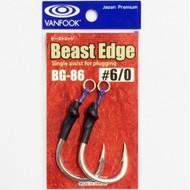 Vanfook Hooks Vanfook  BG-86 Beast Edge assist 6/0