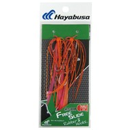 Hayabusa fishing Hayabusa Free Slide Rubber & Hook Set 5 Baitfish