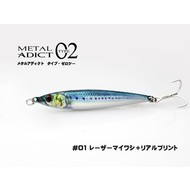 Little Jack lures Little Jack Metal Adict 02 40g #01 Blue Mac