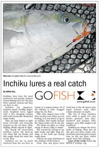 Inchiku lures catch fish