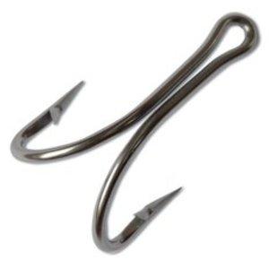 Mustad hooks Mustad 7982HS Double hook stainless 9/0