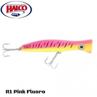 Halco lures Halco Haymaker Roosta Popper 195 R1 pink yellow