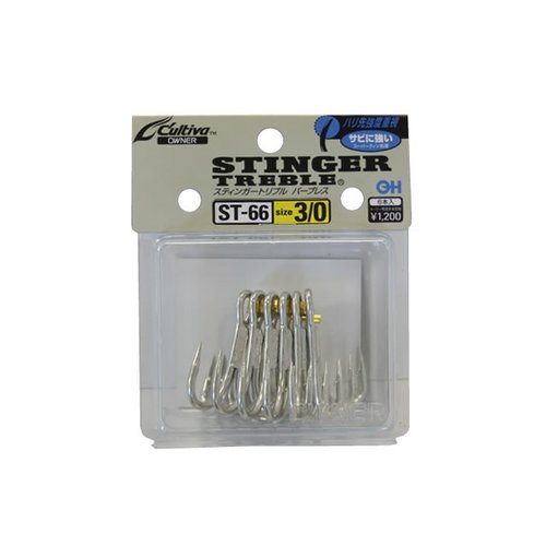 Owner hooks Owner Stinger ST66 treble hook 1/0 4pk