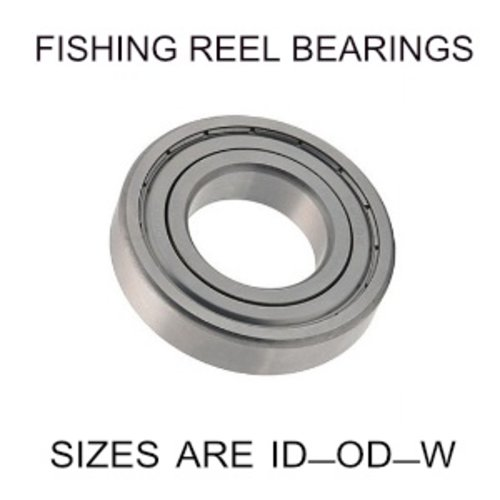 3x7x3mm precision shielded SS fishing reel bearings