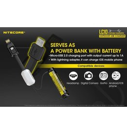 Nitecore LC10 Charger